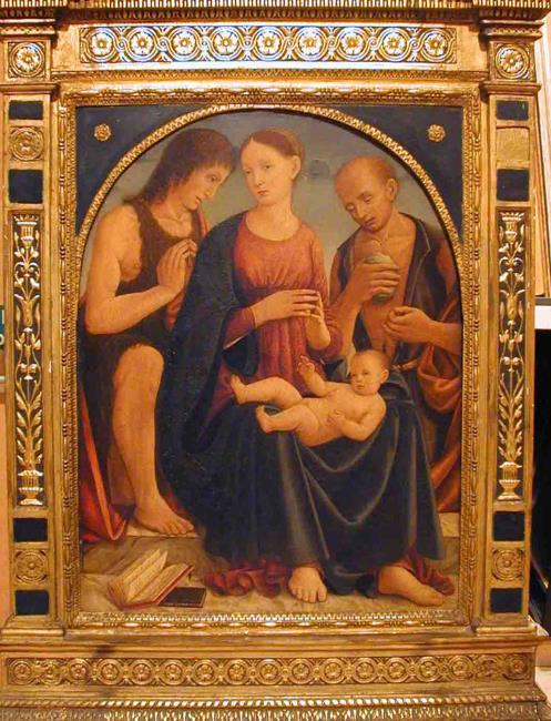 Madonna and Child with SS. John and Jerome