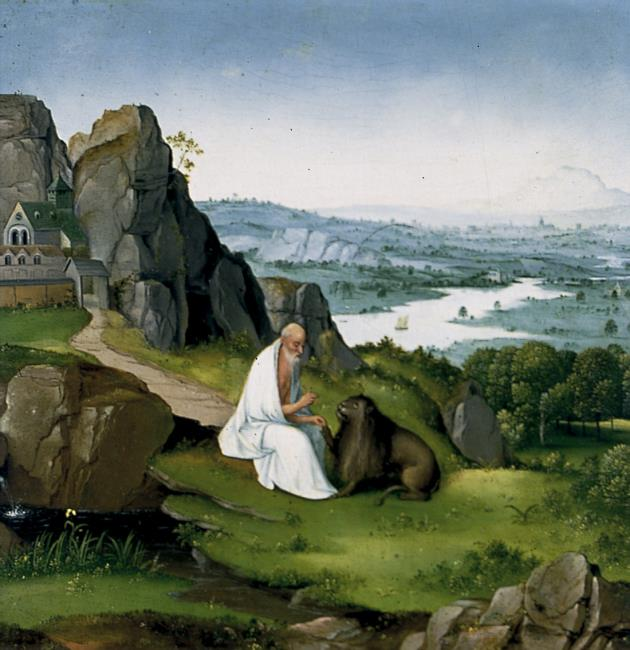 St. Jerome in a Landscape