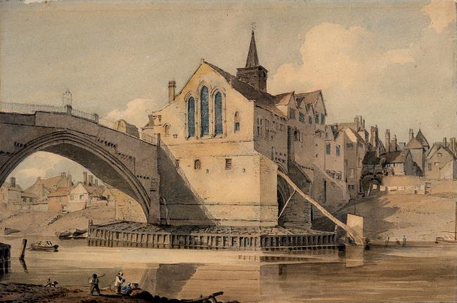Old Ouse Bridge and St. William's Chapel